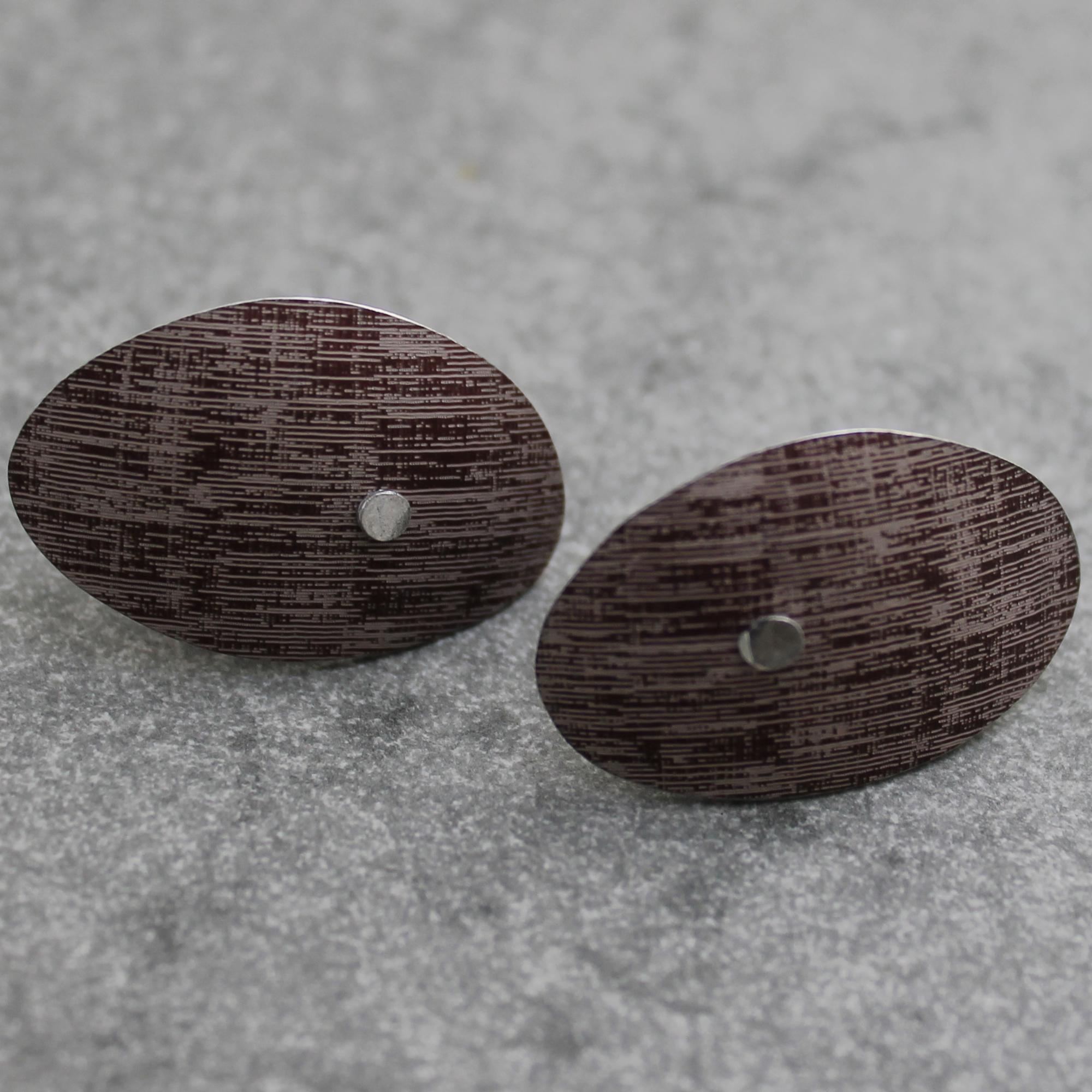 pebble earstuds