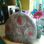 felt tea cosy by Mandy Nash