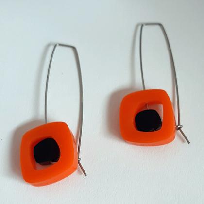 Acrylic Earrings £12.50 including postage