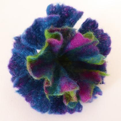 Felt Flower brooch £12.50 including postage