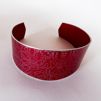 Miniato cuff red £17.50 including postage