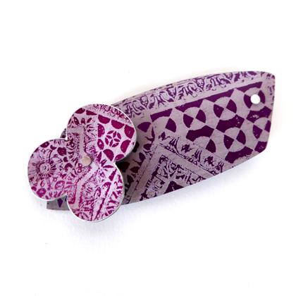 Miniato brooch purple £17.50 including postage