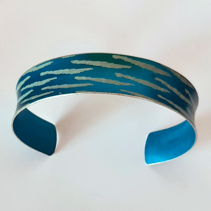 Turquoise cuff £12.50 including postage